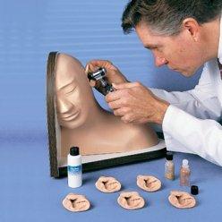 Model lidského ucha pro simulaci vyšetření