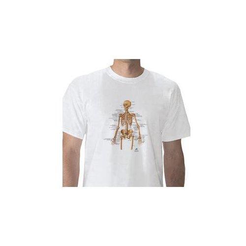 Anatomické tričko - lidská kostra -DOPRODEJ