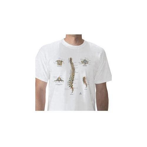 Anatomické tričko - lidská páteř