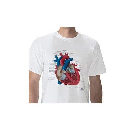 Anatomické tričko - lidské srdce
