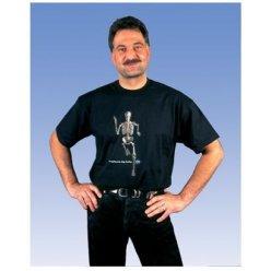 Anatomické tričko - kráčející kostlivec - XL - Doprodej