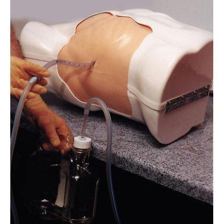 Simulátor pro zavádění drénu do hrudníku