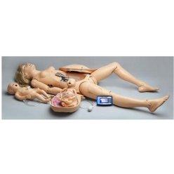 Simulátor porodu s resuscitací dítěte