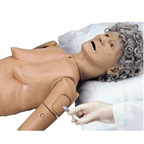 Ošetřovatelská figurína seniora - základní verze