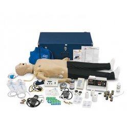 Figurína dospělého pacienta pro nácvik poslechu srdce a plic