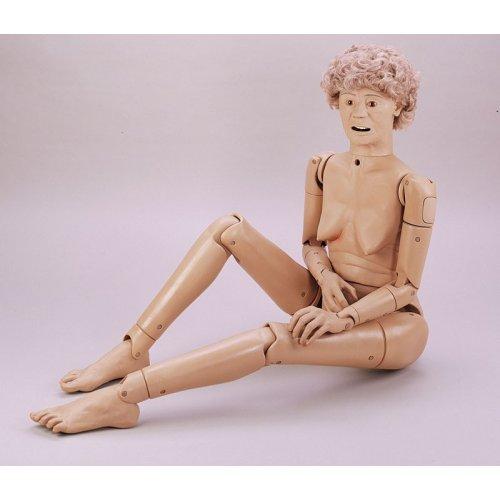 Ošetřovatelská figurína - senior - základní verze