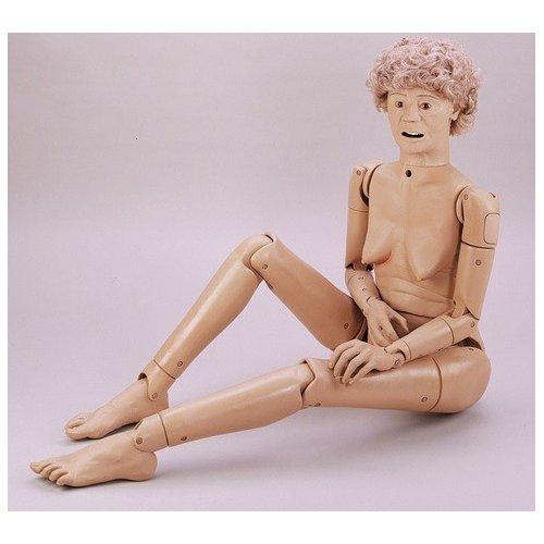 Ošetřovatelská figurína seniora - rozšířená verze