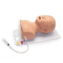 Kojenecký trenažer pro intubaci – hlava na desce