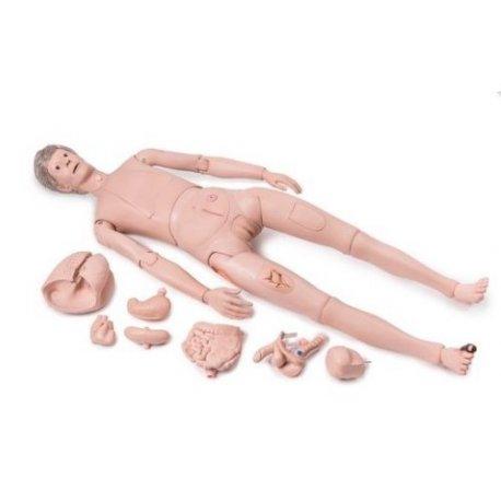 Figurína pacienta k ošetřování - PRO verze