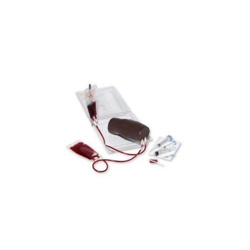 Přenosný trenažér IV infuze - paže - tmavá