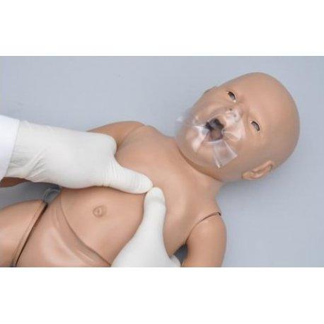 Simulátor CPR a speciální péče - novorozenec - s monitorem