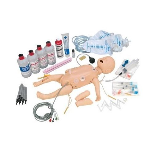 Figurína novorozence - krizová péče - kompletní verze