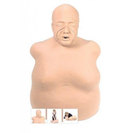 Torzo obézního muže