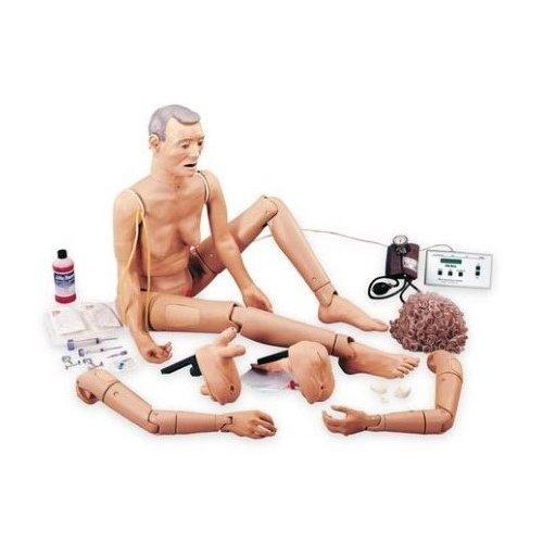 Ošetřovatelská figurína seniora - geriatrická péče