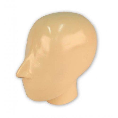 Model lidské hlavy pro RTG vyšetření, neprůhledný