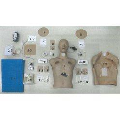 Kůže krku s výřezem pro model EZ - LM93, 5 ks