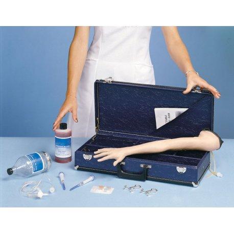 Model dětské paže pro nácvik aplikace injekce