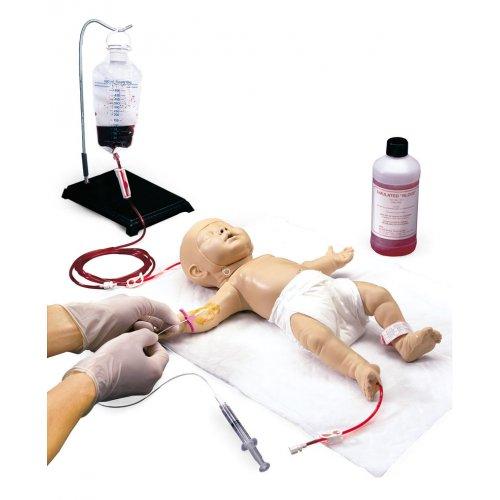 Model novorozence k simulaci žilního přístupu