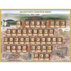 Podložka na stůl: Panovníci Českých zemí I. - 623 - 1310