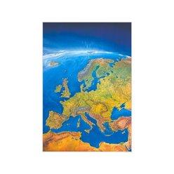 Panoramatická nástěnná mapa Evropy 105 x 150 cm