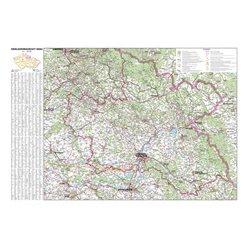 Nástěnná mapa Královéhradecký kraj PF125 113 x 80 cm