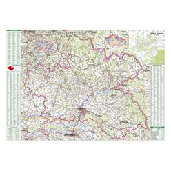 Nástěnná mapa Královéhradecký kraj PF100 130 x 95 cm