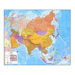 Politická nástěnná mapa Asie CE 120 x 100 cm