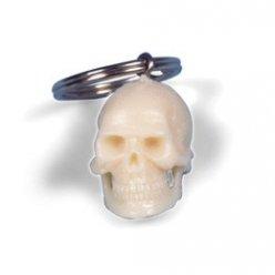 Přívěsek na klíče - lidská lebka